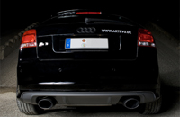 Audi Exhaust system