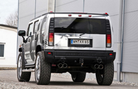 Hummer Exhaust system