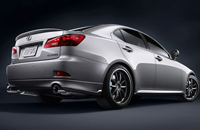 Lexus Exhaust system
