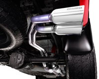 Dual Side Exhaust